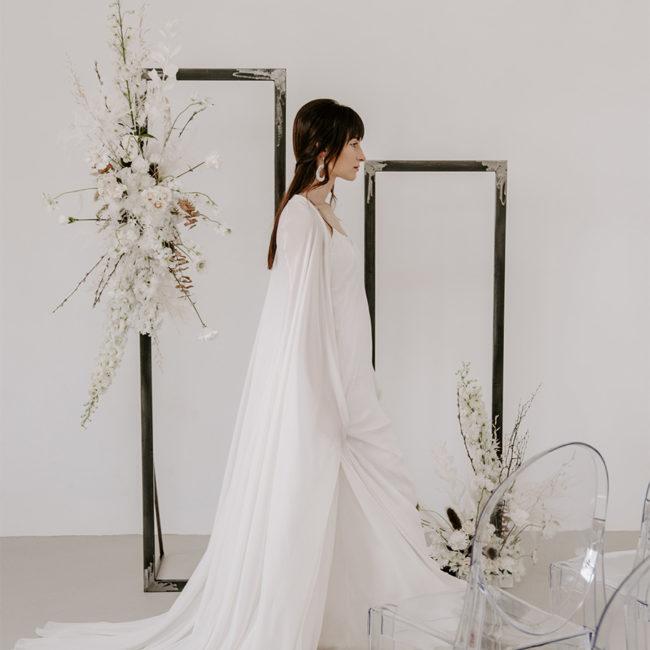 Modern White Photo mise en avant Portfolio Coralie wedding designer decoration location mariage Montpellier Credit TheLovers